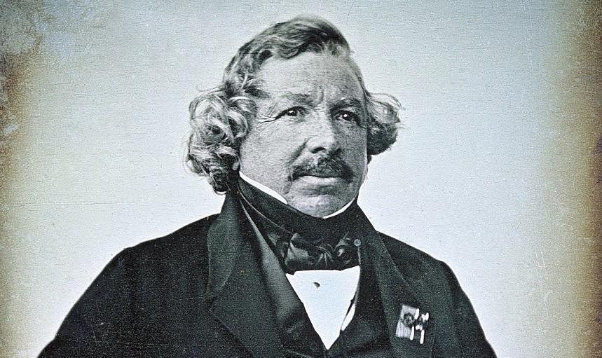Biografía de Louis Daguerre