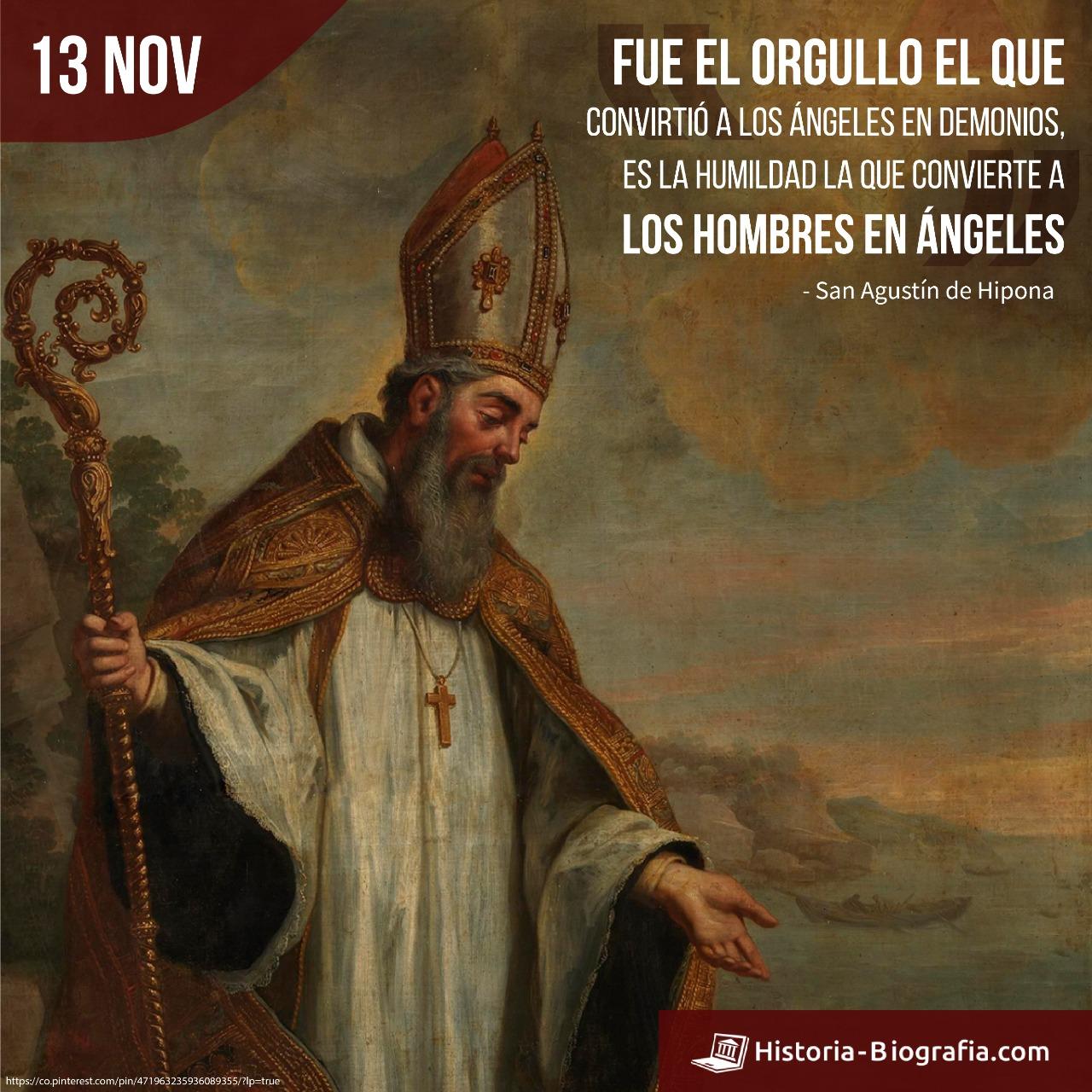 San Agustín de Hipona frases