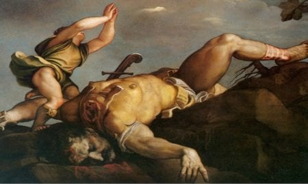Historia de David y Goliat