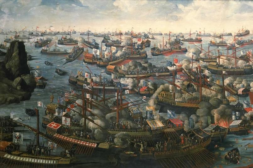 Historia de la Batalla de Lepanto