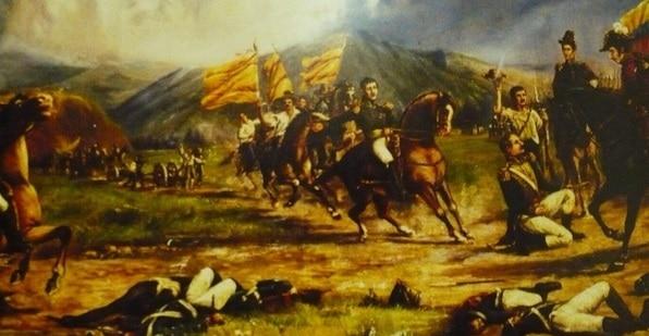 Historia de la Batalla del Pantano de Vargas