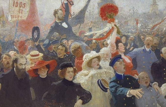 Historia de la Revolución rusa de 1905
