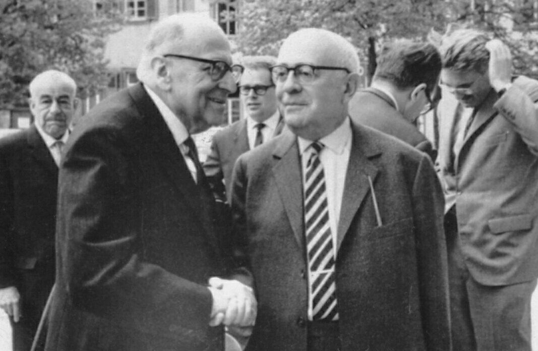 Max Horkheimer y Theodor Adorno