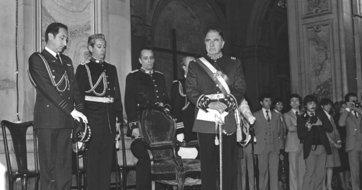 biografía de Augusto Pinochet