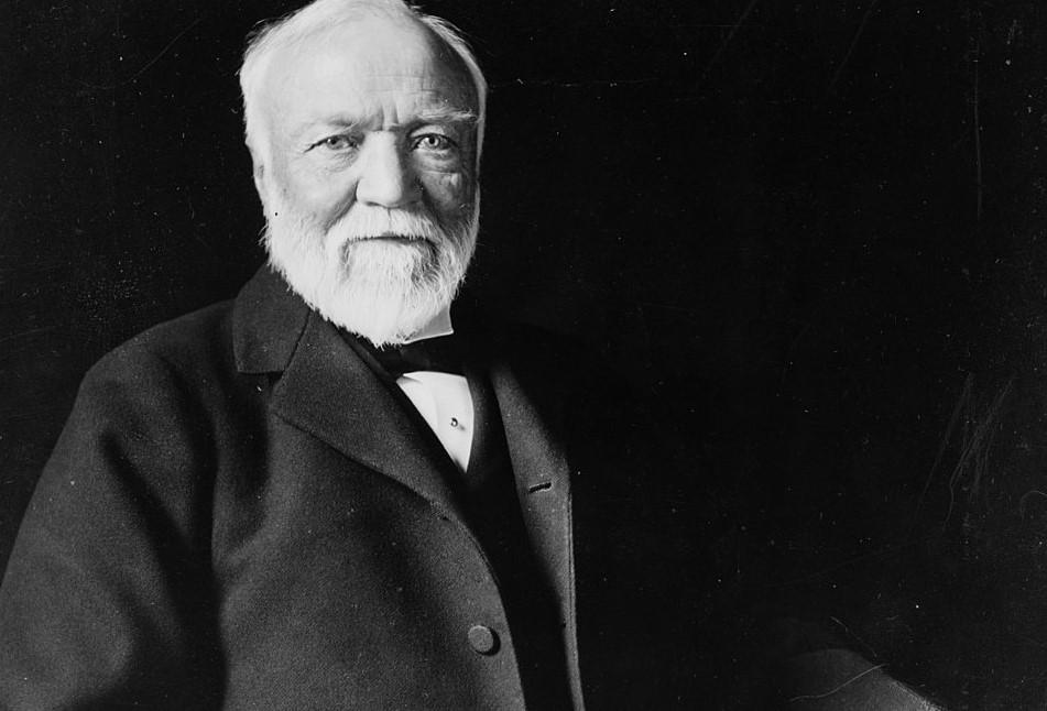 Biografía de Andrew Carnegie