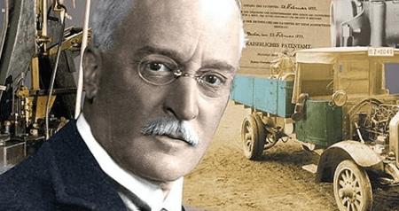 historia de motor diésel