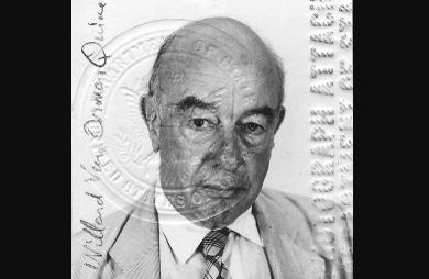 Biografía de Willard Van Orman Quine