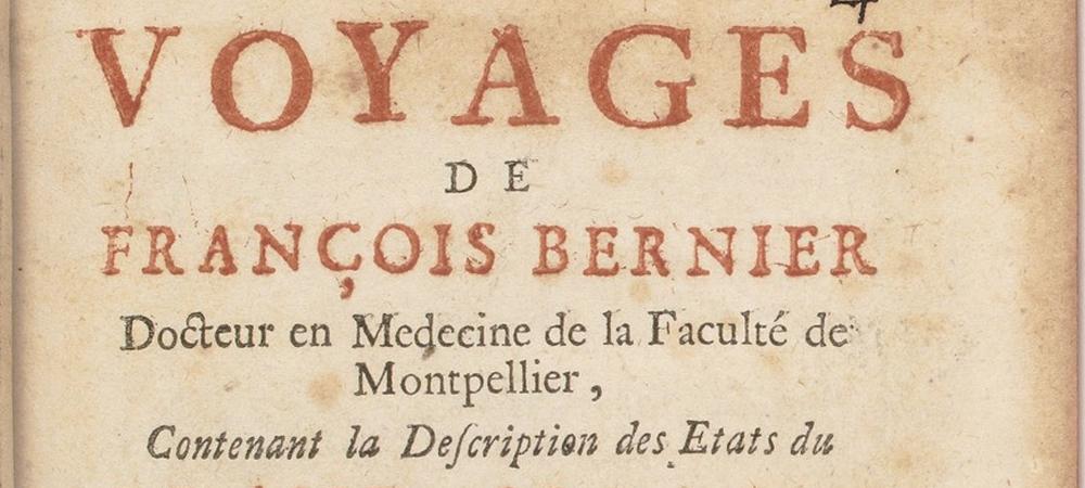 Biografía de François Bernier
